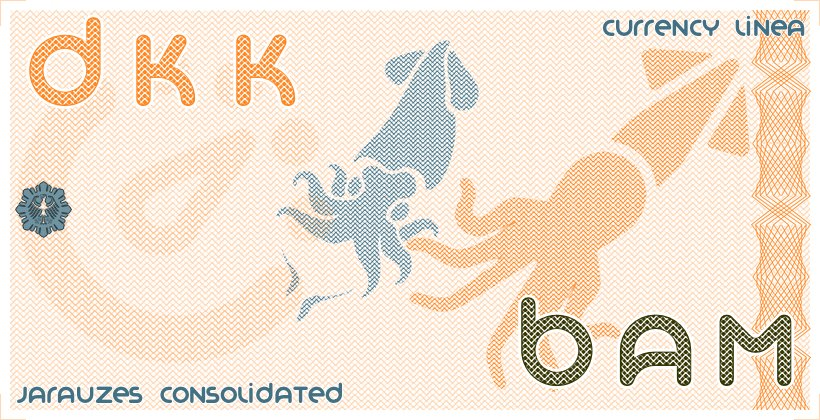 Danish Krone(DKK) - Convertible mark(BAM) Today's Rate